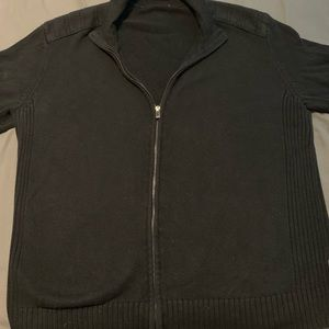 Men's Calvin Klein Full-Zip Sweater Size Large